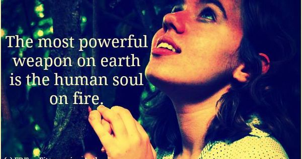 Human soul  Fire and P...
