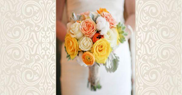 Wedding bouquets, rustic bridal bouquet, bridal bouquet Photo: Jenny McCann Photography in Dallas, TX. Dallas wedding WeddingWishes.com