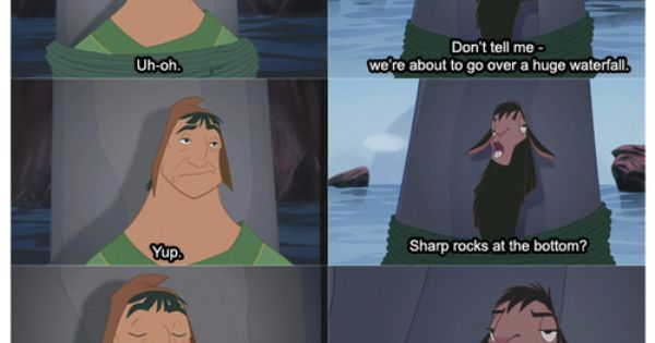 One of my favourite Disney Movies... The Emperors New Groove!!!