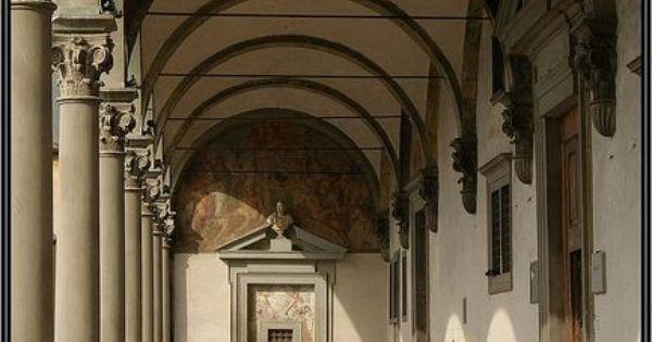 Brunelleschi Old Sacristy Ospedale degli innocen...
