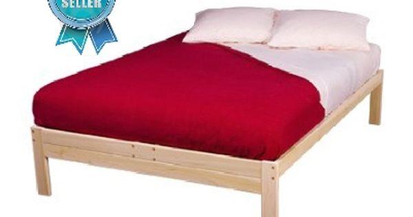 Nomad Platform Bed Unfinished Hardwood Platform Bed Frame Platform Bed Bed Frame