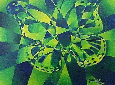Art Lesson Camouflage Color Scheme Paintings School Art