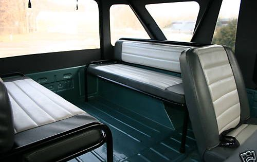 Jeep Equipped With Troop Seats Jeepers Pinterest