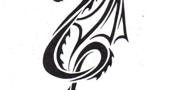Tribal Dragon by LBalch86.deviantart.com | Tattoo ideas ...