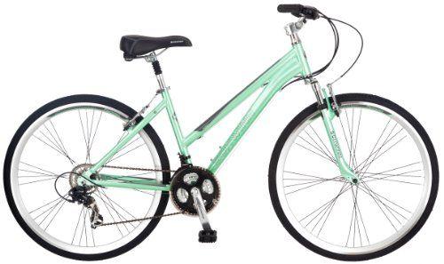 Schwinn Women S Siro 700c Hybrid Bicycle Light Green 16 Inch Frame Pacific Cycle Over Boxed Product Http Www Amazon Co Hybrid Bicycle Hybrid Bike Schwinn