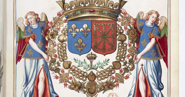 """Résultat de recherche d'images pour """"louis charles duc de normandie dauphin blason"""""""