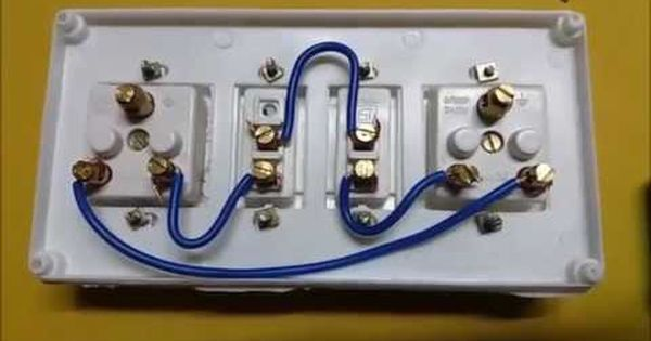 How To Make A Extention Board Of 2 Swtivh And 2 Socket In Hindi Extension Board Electricity Electric Board