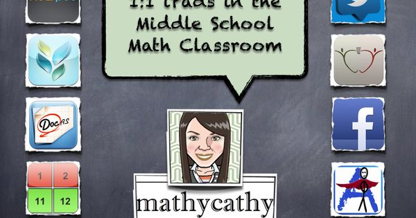 Using Various Apps in the Middle School Math Classroom! MathyCathy's Blog –
