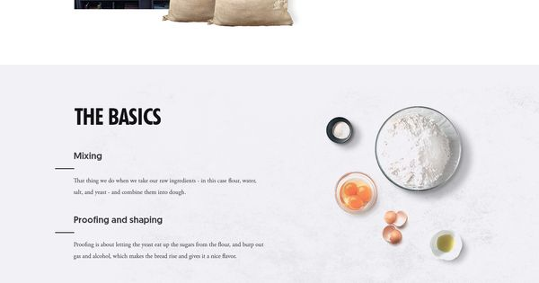Bakin' Cabin layout on Inspirationde. We love this simple, elegant layout. Sexywebdesign