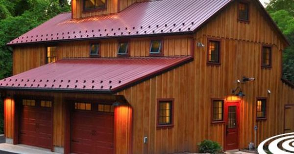 How much for a pole barn with living quarters joy studio for How much to build a pole barn house