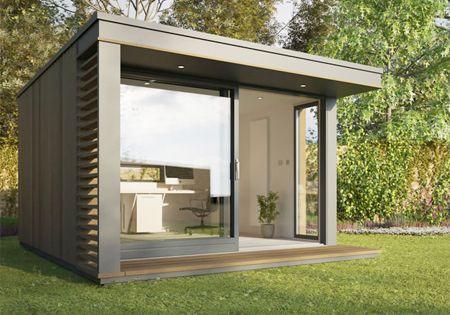 Kantoor aan huis maar dan anders tuinhuis cube tuinkantoor pinterest kantoor aan huis - Kantoor aan huis outs ...