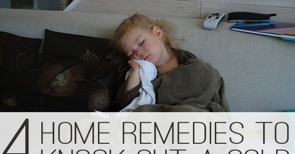 Easy, natural home remedies for a cold