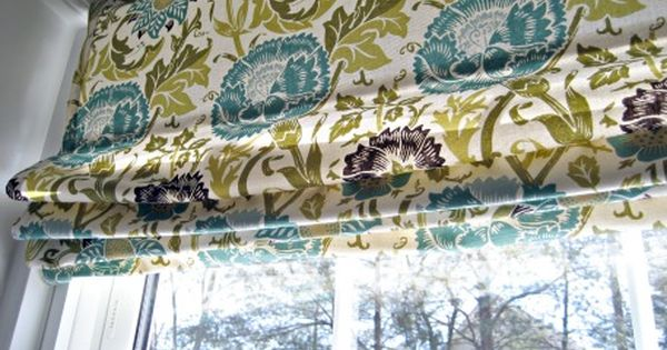 another tutorial for diy roman blinds using mini blinds