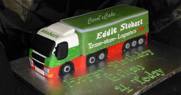 Eddie Stobart Cake Ideas