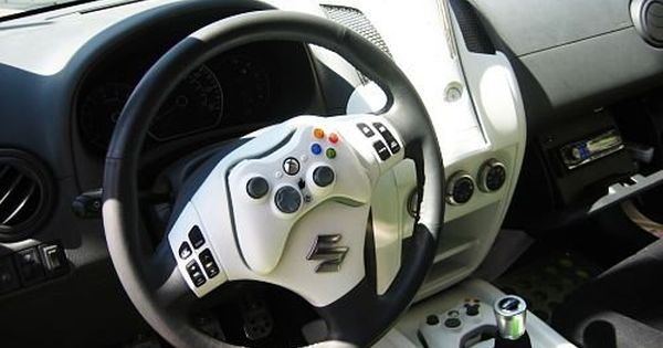 "¡Coche Xbox 360! ¿Qué opináis de esta ""consola ambulante""? Info: http://www.coches20.com/suzuki-concept-jugar-manejar/ xbox"