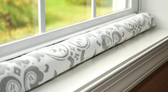Custom length door draft stopper sleeve window draft for Door wind stopper