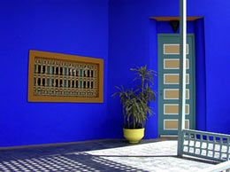 Good Questions Where Can I Find Majorelle Blue Paint Blue