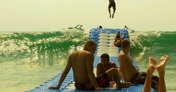 Oh my gosh. It's a wave rider! How awesome would that be?!