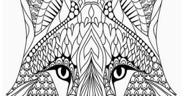 Coloring Pages Adults Wolves Head Animals Coloring Pages