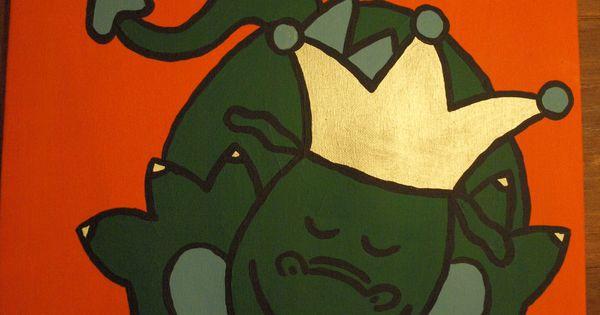 52 . Schilderij voor kinder/babykamer Naai en schilder ideeën ...
