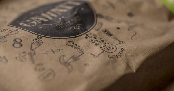 Coffee Shop Branding: Gawatt Take-Out Coffee created by Stepan Azaryan, Karen Gevorgyan