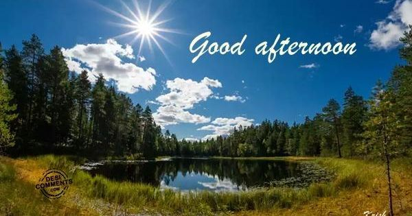 Good Afternoon Pictures, Images, Graphics for Facebook