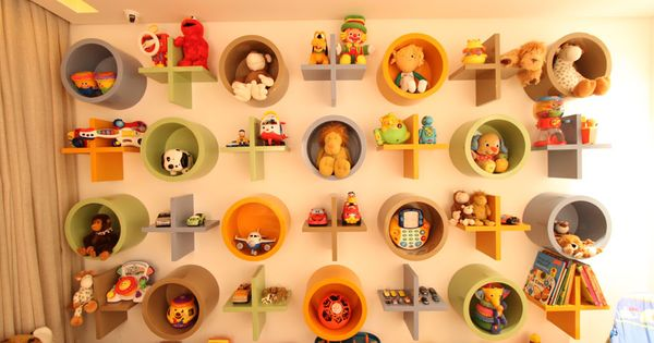 Cool idea for toy storage :)
