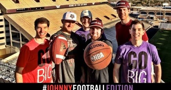 Johnny Football Edition w/ Dude Perfect: Texas A's Johnny Manziel Teams with