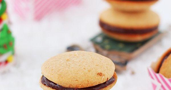 Nutella eggnog cookies | Recipe | Eggnog Cookies, Nutella and Cookies