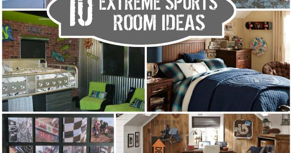 Extreme sports bedroom ideas for Extreme bedroom designs