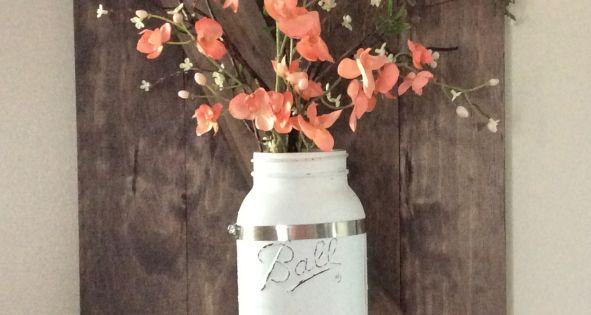 Mason Jar Wall Decor Hobby Lobby : Diy wall decoration ideas decorations