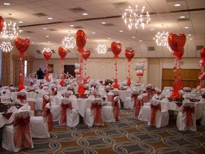 Decoracion de amor y amistad san valentin decoraciones for Decoracion san valentin pinterest