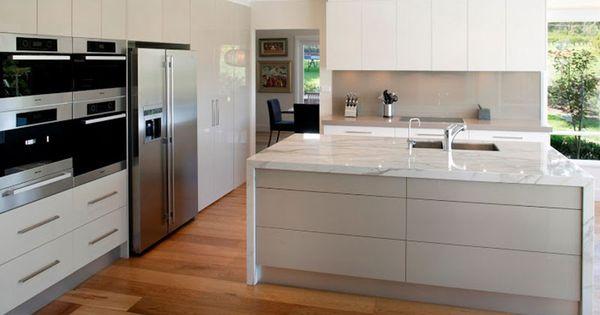 Suelos laminados para cocinas modernas tarima en cocinas - Laminado para cocina ...