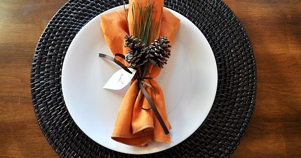 Nice Place Setting and other Thanksgiving Ideas