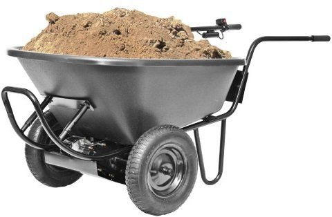 Electric Battery Power Wheelbarrow Continue To The Product At The Image Link Wheelbarrow Powered Wheelbarrow Electric Wheelbarrow