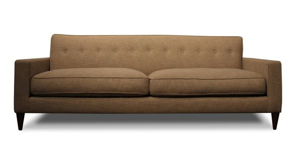 Down Wrapped Norris Sofa With Down Cushions Overstock