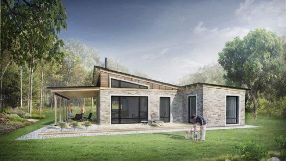Dise os de casas de campo con planos y fachadas - Construccion casas de campo ...