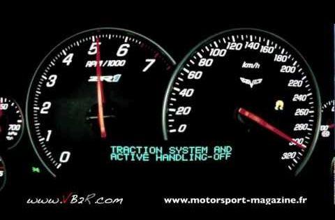Corvette Zr1 Acceleration Top Speed 0 330 Km H Www Vb2r Com 0