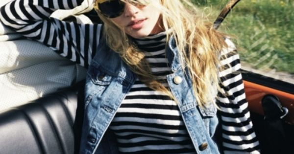 :: stripes & denim ::