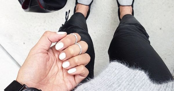 nails whitenails nailtrends