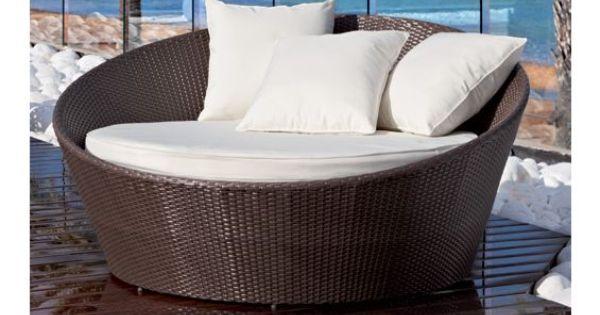Fabuloso y amplio sof redondo donde podr disfrutar for Sofa redondo jardin
