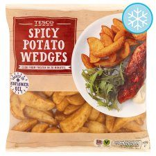 2 Syns For 100g Spicy Potato Wedges Slimming World Tesco