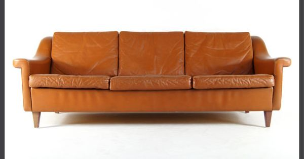 Retro danish design 3 seat seater teak leather sofa for Variant of scandinavian designs sofa ideas