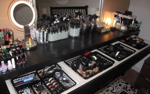 My dream make up table...
