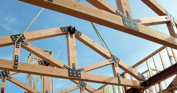 Roof Truss Spacing Sheds Pinterest Roof Trusses
