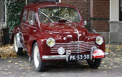 Renault 4cv R 1062 Renault Et Retro