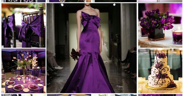 Purple Wedding Charlotte NC Wedding Planner SJB Weddings Events