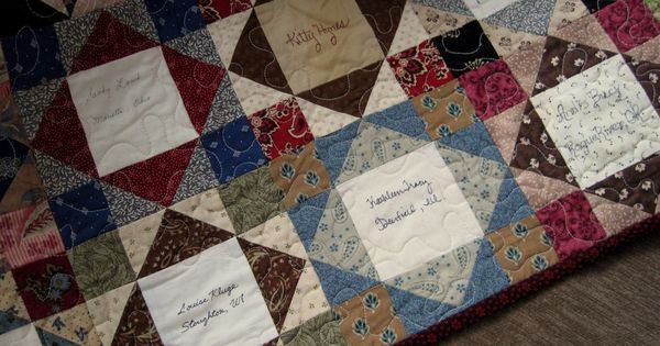 Free Easy Memory Quilt Patterns : Free Easy Quilt Block Patterns Sentimental Quilter: Friendship Quilts Quilts Pinterest