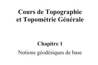 TÉLÉCHARGER LE COURS COMPLET GRATUIT DE TOPOGRAPHIE ET TOPOMÉTRIE