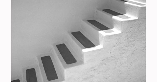Santorini, Greece, island, black, cement, steps, stair ... Steps